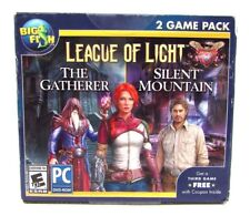 League Of Light The Gatherer & Silent Mountain Hidden Object PC Game Pack NEW
