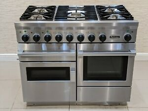 FALCON CKR 1092 110CM DUAL FUEL RANGE COOKER IN STAINLESS STEEL  A652