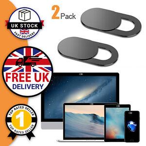 Webcam Cover Shutter Privacy Slider Camera Macbook Laptop Phone Cam Cover Pad UK