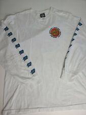 VINTAGE SANTA CRUZ Skate THRASHER Punk SHIRT USA Graphic Logo Mens Large L