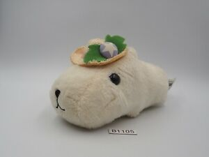 "Capybara-san B1105 White KAPIBARA-SAN Banpresto 2009 Plush 5.5"" Toy Doll Japan"
