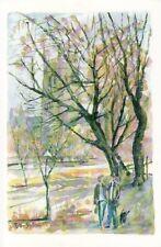 L004.Bevere Vivis Postcard.October.Worcestershire