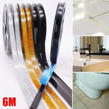 6M Length Ceramic Tile Mildewproof Gap Tape Self-adhesive Home Office Decoration