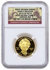 2016-W $10 1/2 oz. Proof Gold First Spouse - Nancy Reagan NGC PF70 UC SKU42717