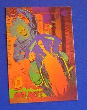 968d4ef1a5b 1992 MARVEL UNIVERSE 3 - IMPEL HOLOGRAM INSERT CARD   H-5 GHOST RIDER NM