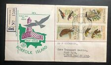 1970 Norfolk Island First Day Cover FDC Salt House To RAAF Base
