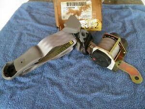 12455709 SEAT BELT RH retractor gray 1999-2001 Buick Century or Regal NOS part