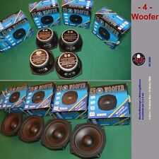 4 Woofer Midrange Basso 13cm 70W 4ohm 88dB BJ SP2000 Magneti Enormi SospenzGOMMA