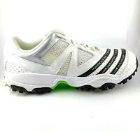 White Cricket shoes with Spikes Men's US 7, UK 6.5, EUR 41, 25 cm VGC