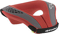 Alpinestars Sequence Neck Protection Brace Support Youth LG/XL Black/Red MX ATV