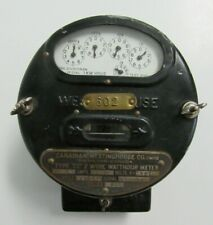 Vintage Antique Westinghouse Watthour Electric House Electricity Meter 1913