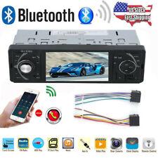 4.1'' Single 1 DIN Car Stereo MP5 MP3 Player Bluetooth FM Radio USB AUX WW
