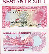 (com) SAO TOME' - SAINT THOMAS & PRINCIPE - 50 DOBRAS 30.9. 1982 - P 56 - UNC