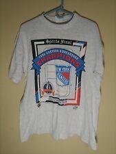 1994 New York Rangers Stanley Cup Champion Souvenir Shirt Men's Medium Nhl Vtg