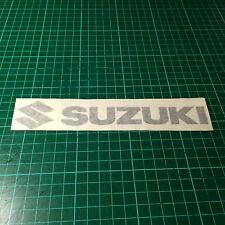 Suzuki With Logo Car Bike Stickers