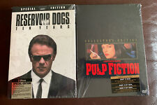 Quentin Tarantino Lot Of 2 Brand New Dvds Pulp Fiction Reservoir Dogs