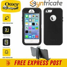 OTTERBOX DEFENDER RUGGED STRONG CASE FOR APPLE IPHONE 5S/5/SE (1st Gen) - BLACK