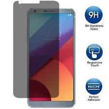 Privacy Anti-Spy Tempered Glass Screen Protector Guard Shield Saver For LG G6