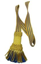 Sword Knot Royal Navy Sword Knot Gold  Blue Lord Nelson Officer Sword Knot R1704