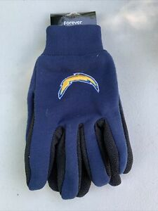 San Diego / LA ChargersNFL Sport utility gloves forever collectibles Blue #319