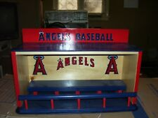 Bobble heads   Angels display case Dugout style