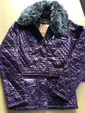 ** Neu+OVP: BARBOUR Henderson Quilt Jacket Gr. 10 (dt. 36)  in Lila **