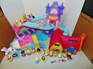 Fisher Price Little People Disney Princess Lot
