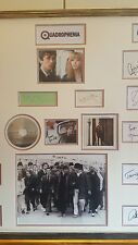 quadraphenia genuine hand signed  by 13 huge 35x33 inch