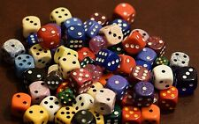 10 d6 Chessex Gaming RPG Yahtzee Dice Multi Colors and Sizes High Quality RARE!