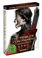 Die Tribute von Panem - Complete Collection - Jennifer Lawrence - 8 DVD Box