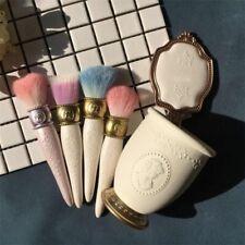 Make Up 1pc Pro Makeup Brushes Powder Foundation Eye Shadow Lip Pink Purple Blue