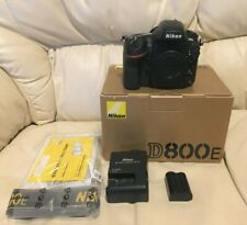 Nikon D800E 36.3MP Digital SLR Camera with low shutter count 12,609