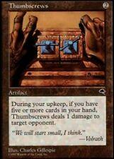 4x Thumbscrews NM-Mint, English Tempest MTG Magic