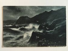 """Vintage Postcard - Dainty Series """"A Breezy Day on a Rocky Road"""" - unused"""