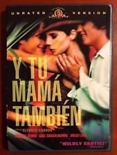 Y Tu Mama Tambien (Dvd, 2001, Unrated) - E1014
