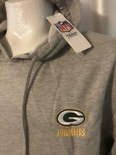 nwt DUNBROOKE NFL Team Apparel sz L GREEN BAY PACKERS Pullover HOODIE Sweatshirt
