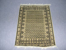 Indian Wool Area Rug Oriental Morden Design Beige Colour Carpet 2x3 Hand Knotted