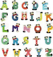 Buchstaben bunt aus Holz - Holzbuchstaben für Kinderzimmer g