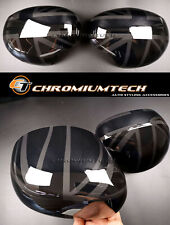 Facelift MINI Cooper F54 F55 F56 F57 F60 ALL BLACK Union Jack Mirror Cover RHD