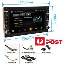 "2Din 8""Android 8.1 RAM 1GB ROM 16GB Car Stereo Radio W/ Button Knob GPS Wifi OBD"