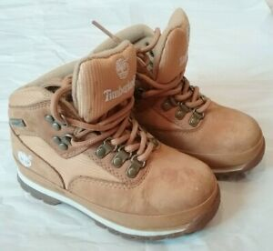 TIMBERLAND Toddler Boys Bootie,  Brown,  Size 10T, EUC!