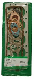 New Lucas Cylinder Head Gasket Set for Triumph Spitfire 1500 and MG Midget 1500
