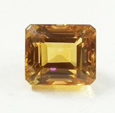 AAA+ Finest quality 10cts certified Natural Citrine gemstone clean transparent
