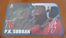 NHL Montreal Canadiens 2014-15 Placemat P.K. SUBBAN #76 PRINTED Autographed
