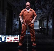 1/6 Prisoner Uniform For Dwayne Johnson Jason Statham Furious Muscular U.S.A.