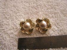 VIntage Marvella Clip Earrings
