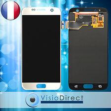 Ecran complet pour Samsung Galaxy S7 SM-G930 blanc vitre tactile+ écran LCD