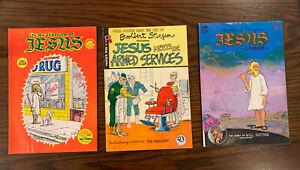 Jesus Comics #1, #2, and #3 All Fine