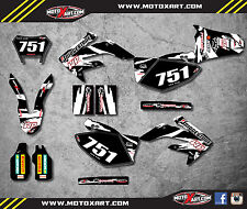 Honda CRF 250 X - 2004 / 2017 Full  Custom Graphic  Kit - SAFARI STYLE decals