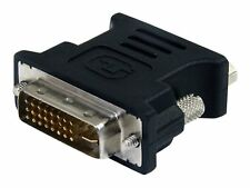 StarTech Adaptor DVI to VGA Cable Adapter Black DVIVGAMFBK